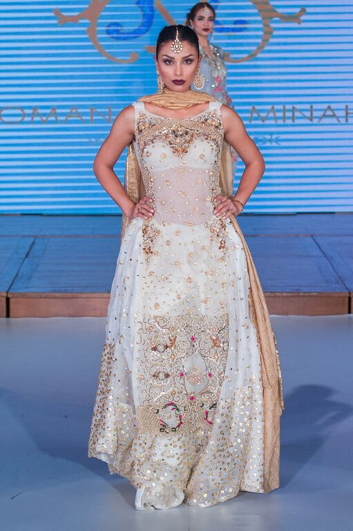 Romana Rani Minahil at Pakistan Fashion Week London #PFW8 Spring & Summer trends 2016