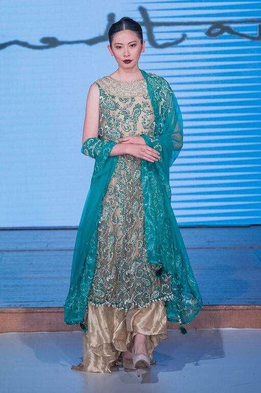 Arshad Tareen at Pakistan Fashion Week London #PFW8 Spring & Summer trends 2016
