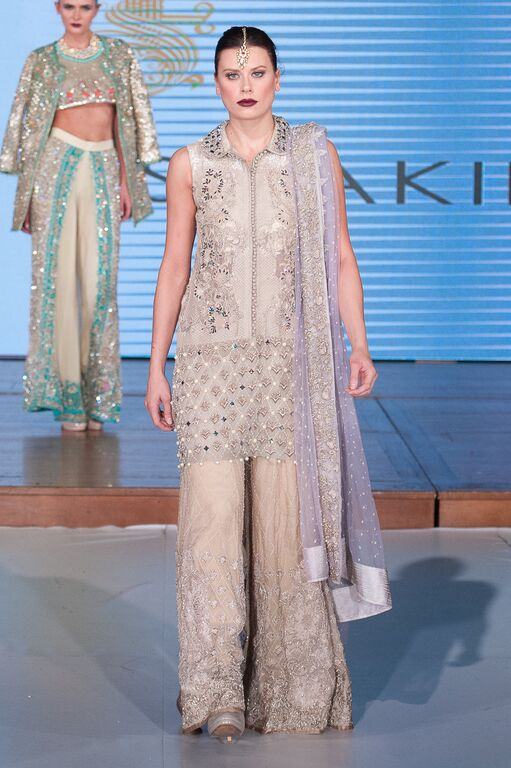 Saira Shakira at Pakistan Fashion Week London #PFW8 Spring & Summer trends 2016