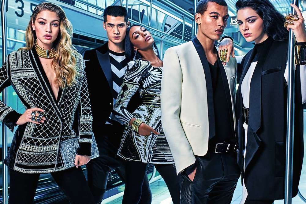 Balmain X H&M London
