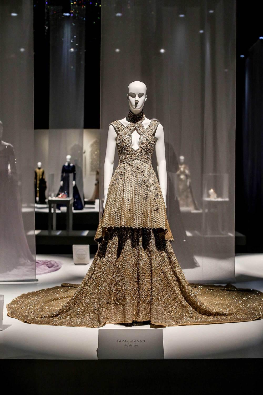 Faraz Mannan at Swarovski Sparkling Couture in Dubai