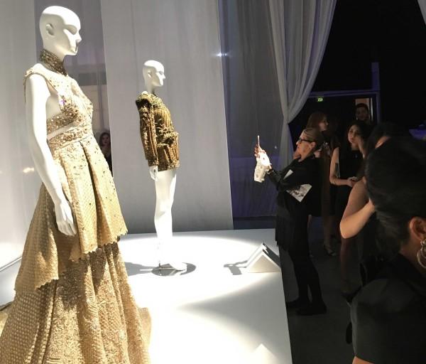 Guests at Swarovski Sparkling Couture by Fahad Hussayn and Faraz Manan