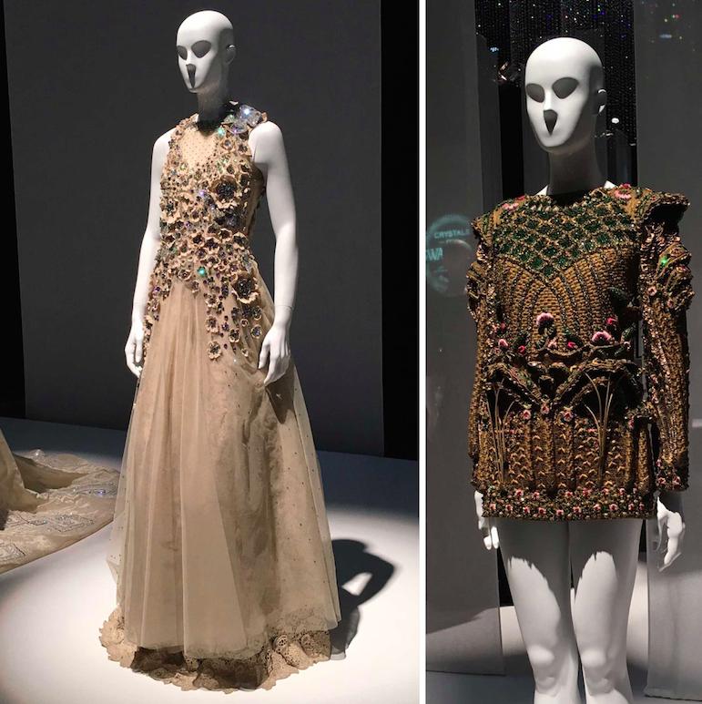 Saira Shakira & Fahad Hussayn at Swarovski Sparkling Couture in Dubai