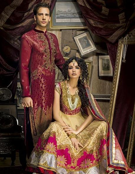 South Asian Bridal Couture Collections Presented at O'nitaa Bridal Showcase
