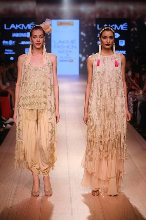 DHL Presents Anand Kabra at Lakme Fashion Week, Winter Festive 2015