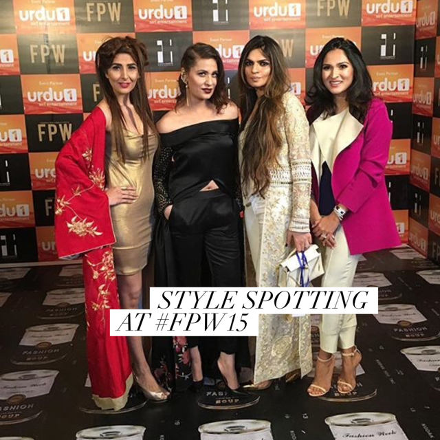 Red Carpet Sania Maskatiya Karachi Fashion Week Pakistan 2015.jpg