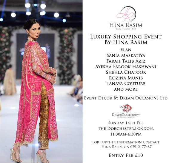 Luxury Shopping Event by Hina Rasim