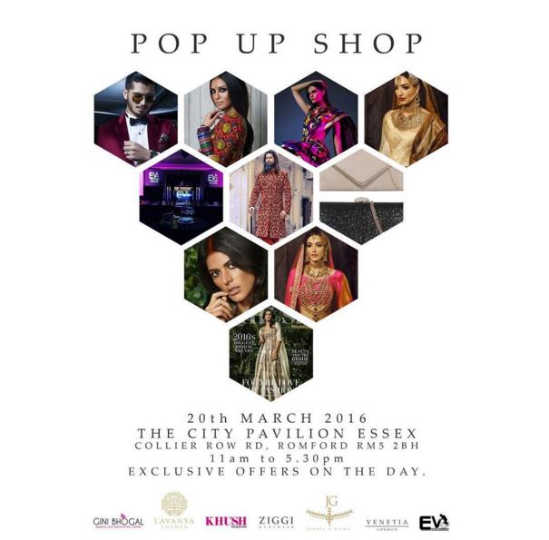 Ziggi Menswear Pop Up Shop