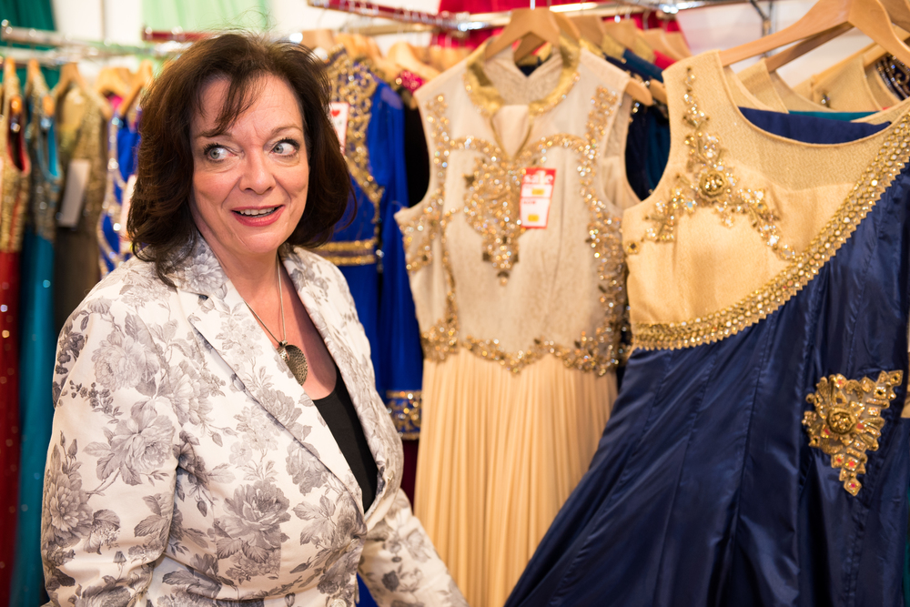Lyn Brown MP at East Shopping Centre 2.jpg
