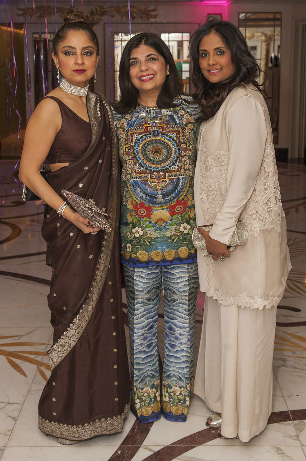 Aminah Jahan Jamil Zareen Aslam and Naureen Iqbal.jpg