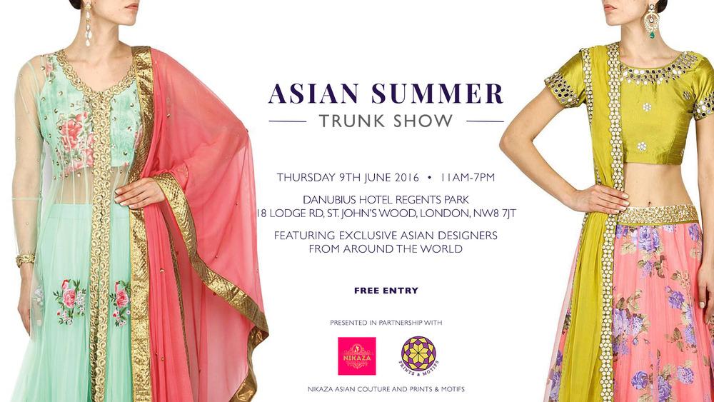 Asian Summer Trunk Show SS16