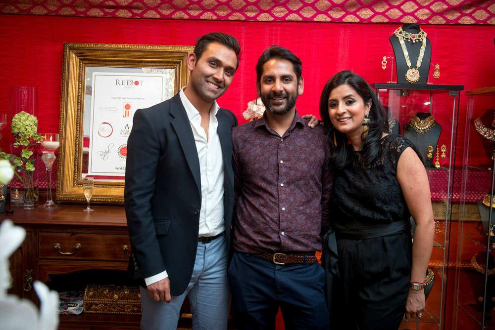 Jitesh Patel and Shalini Gupta-Patel with guest (Photographer credit - RAFYL).jpg