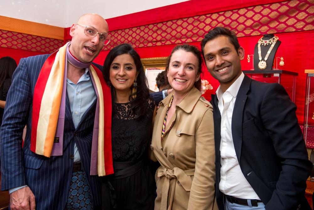 Bart Eyking, Jitesh Patel, Guest, Shalini Gupta-Patel (Photographer Credit - RAFYL).jpg