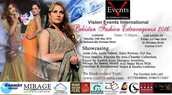 Pakistan Fashion Extravaganza 2016