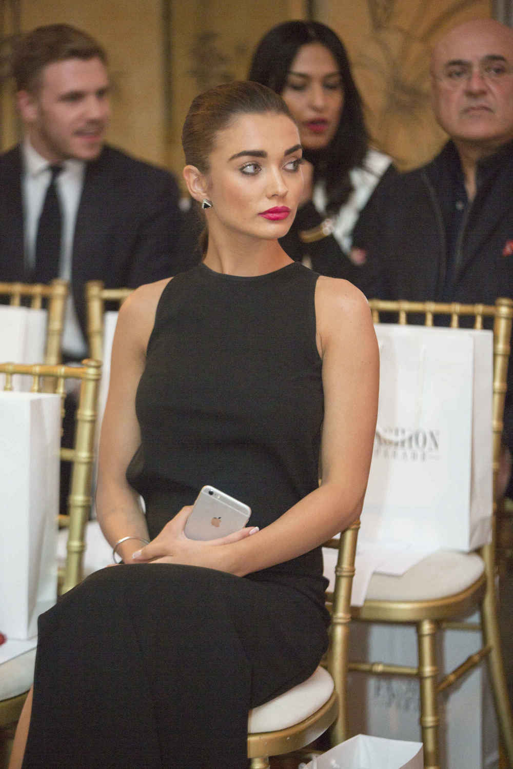 Amy Jackson on the FROW Photo Credit - Nas Din .jpg