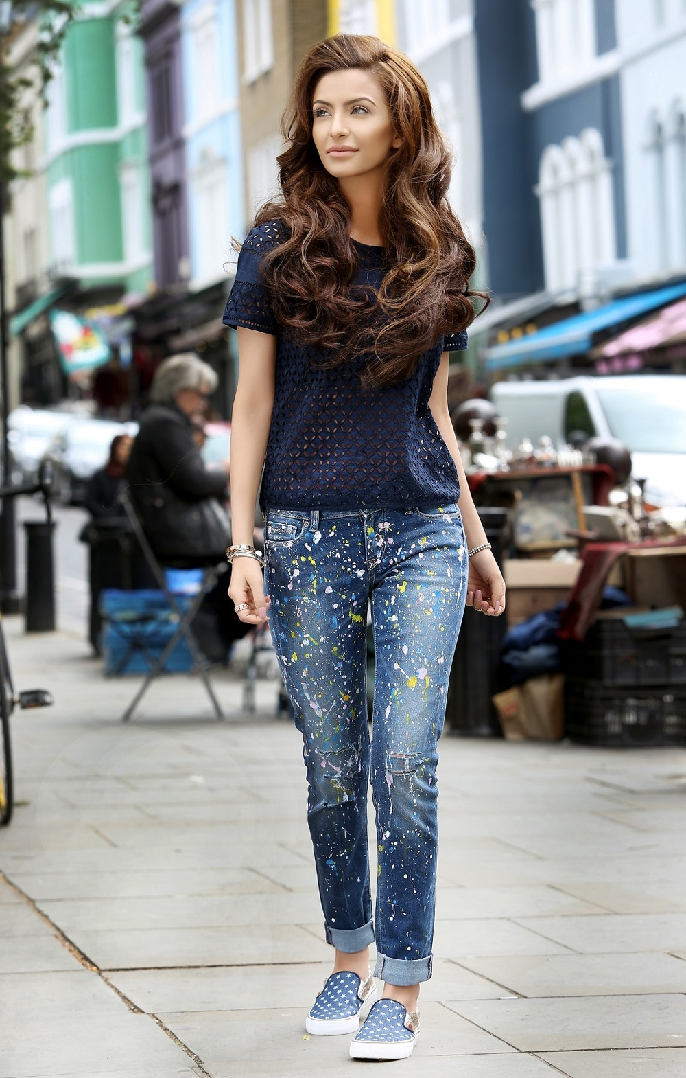 Pepe Jeans Pakistan - Break Your Jeans campaign starring Faryal Makhdoom - Look 1 (1).JPG