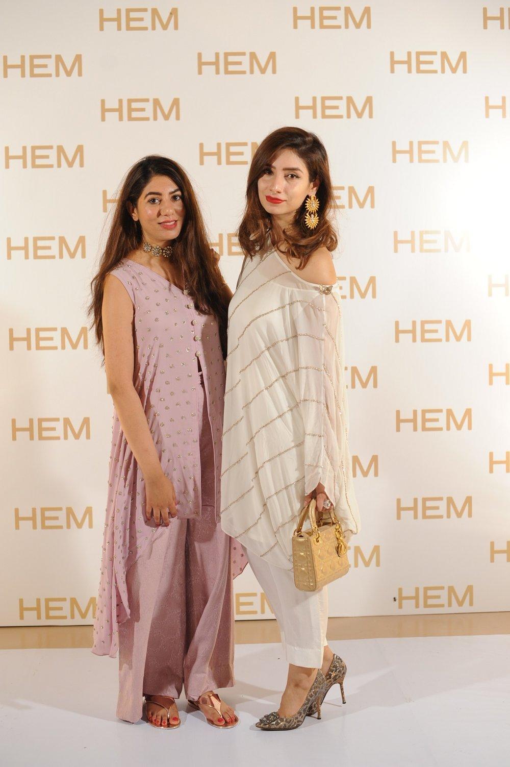 Farina Ghauri & Sehar Khosa wearing HEM.JPG