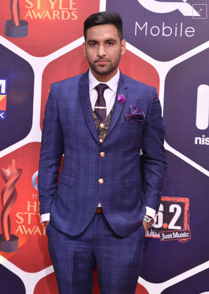 zaid-ali at Hum Style Awards 2016.jpg