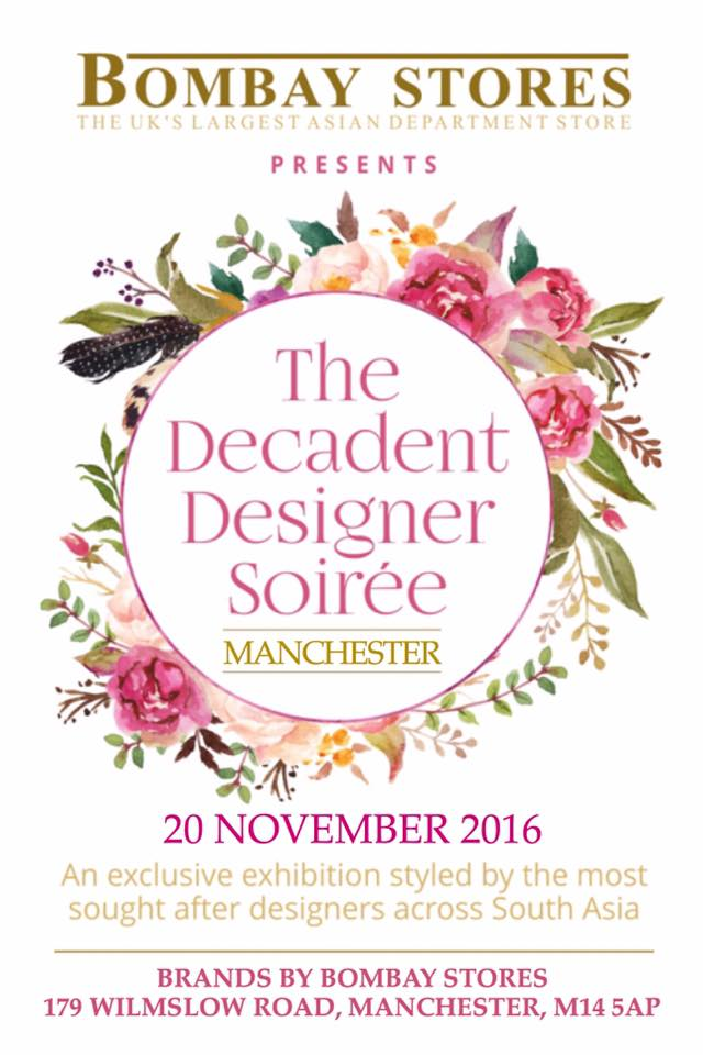 The Decadent Designer Soirée by Bombay Stores