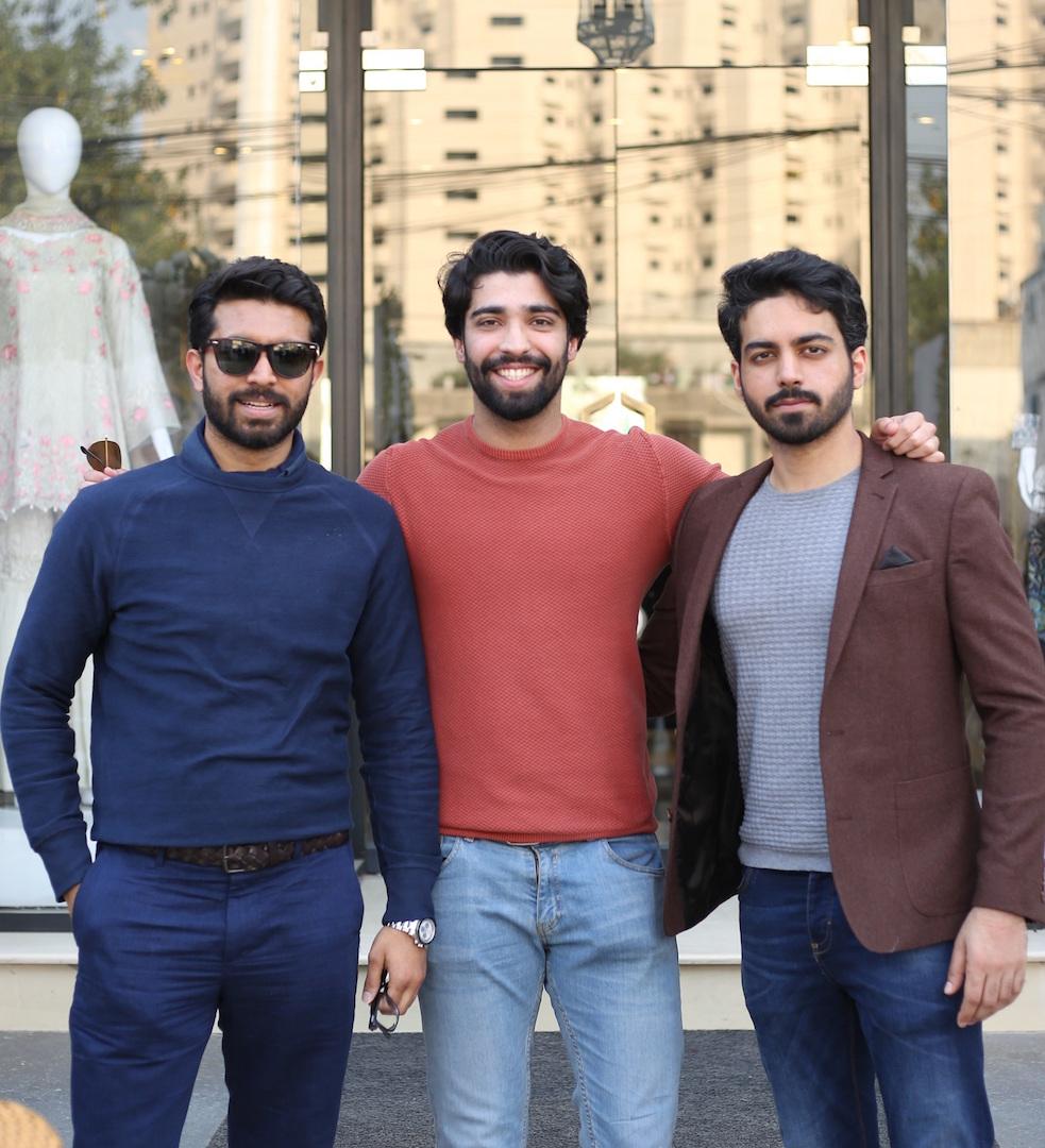 Sheharyar Iqbal, Rehan Munir, Feroz Qadri.JPG