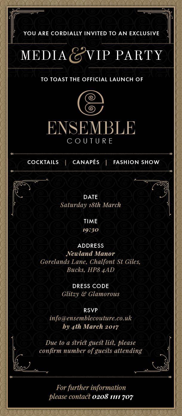 Ensemble Couture Launch Party
