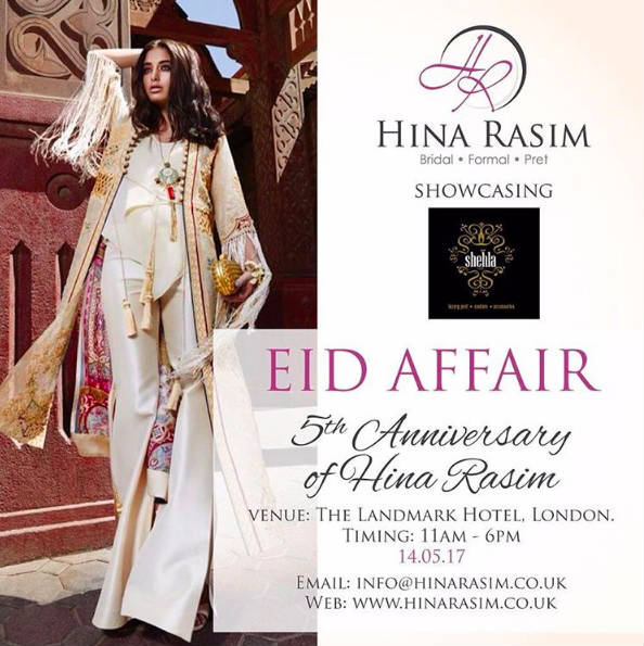 Hina Rasim's Eid Affair