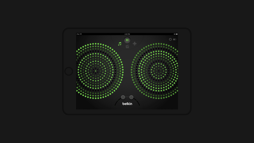Belkin ThunderStorm App – UX & UI