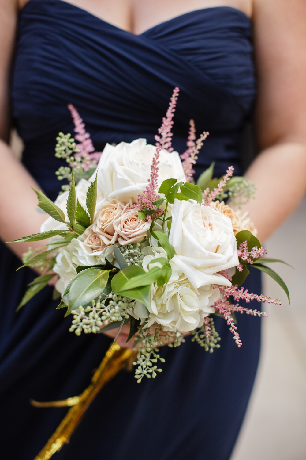 Bridesmaid bouquet by Fleur Inc, photo by Sarah Postma Photography