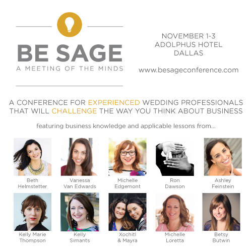 Speaking at Be Sage
