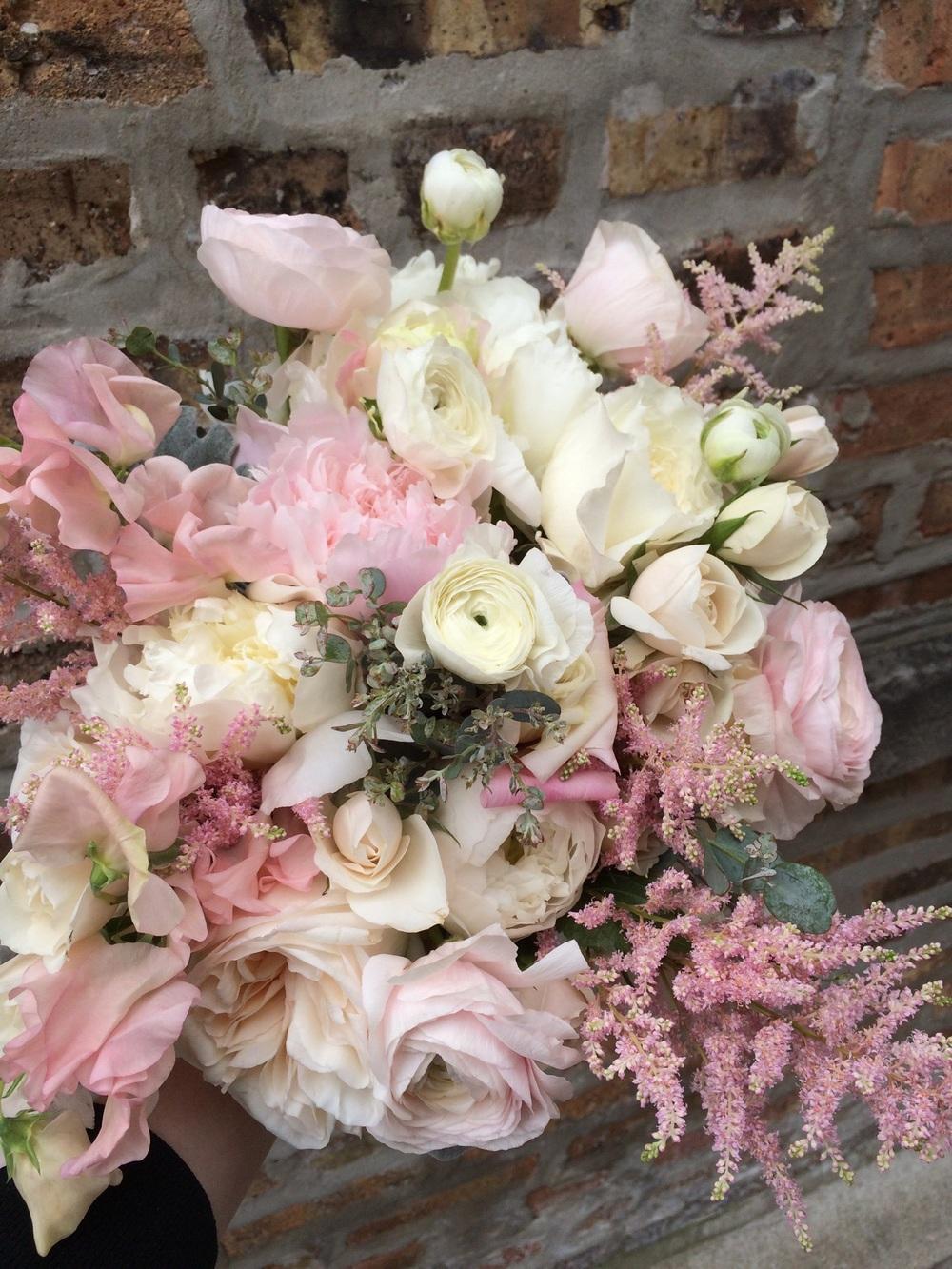 Bridal bouquet by Fleur Inc