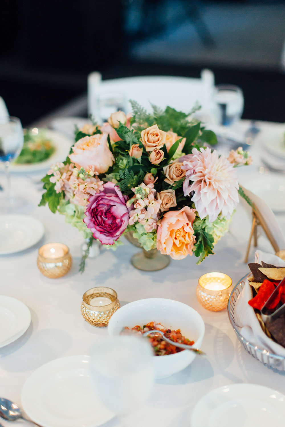 Flowers by Fleur Inc, photo by Tim Tab Studios, Planning by Wrap it Up Parties
