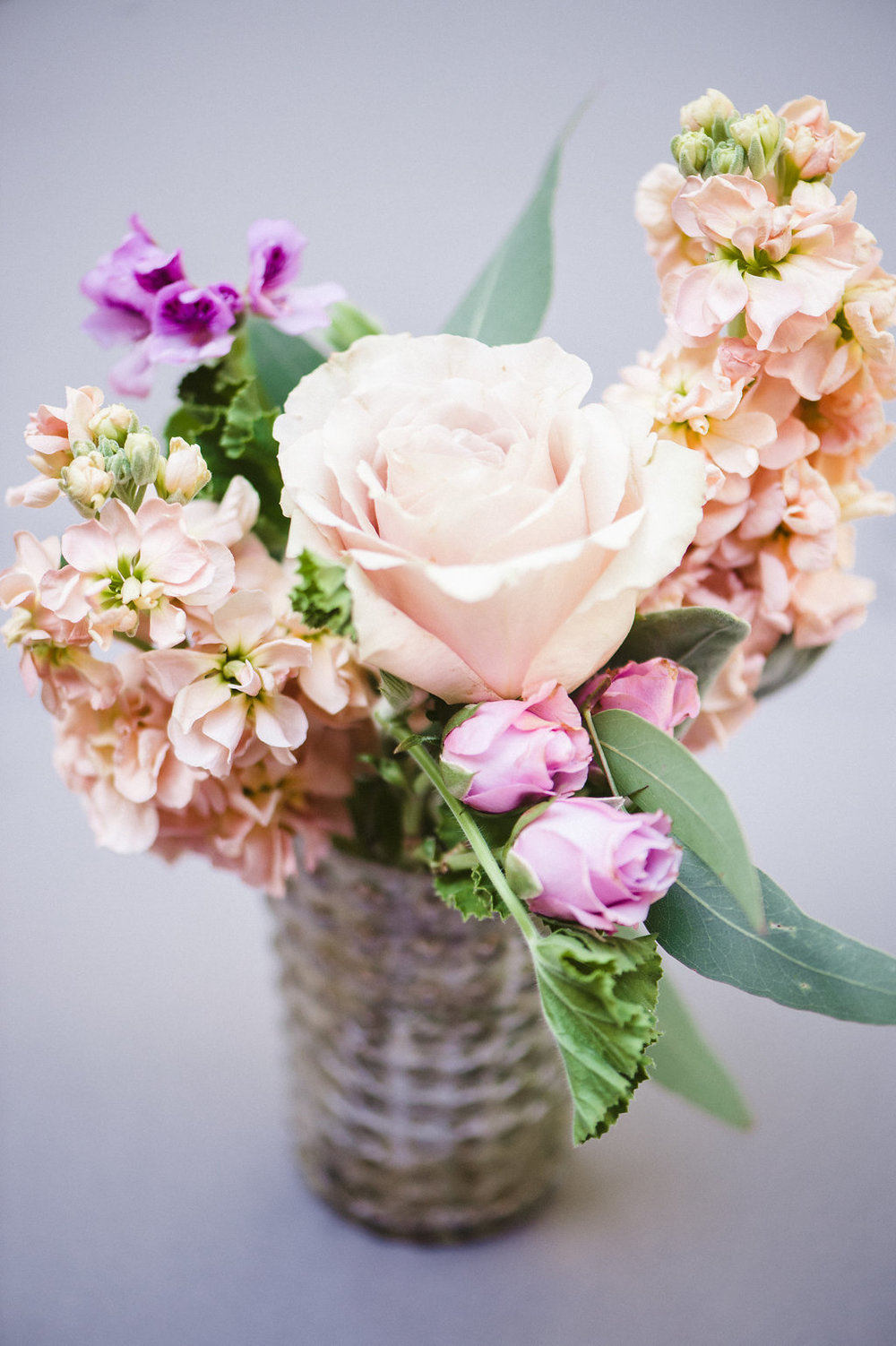 Flowers by Fleur Inc at The Ivy Room, photo by Amanda Megan Miller Photography
