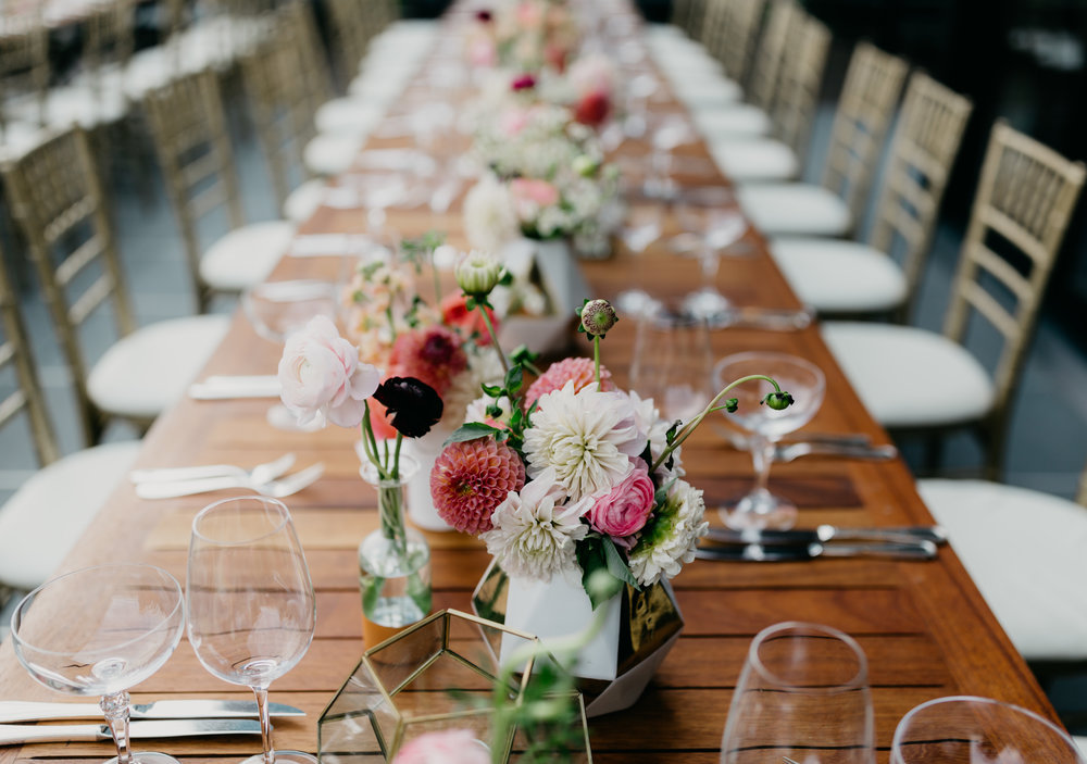 Flowers by Fleur Inc, Photo by Dana Ann Photography, Planning by Estera Events