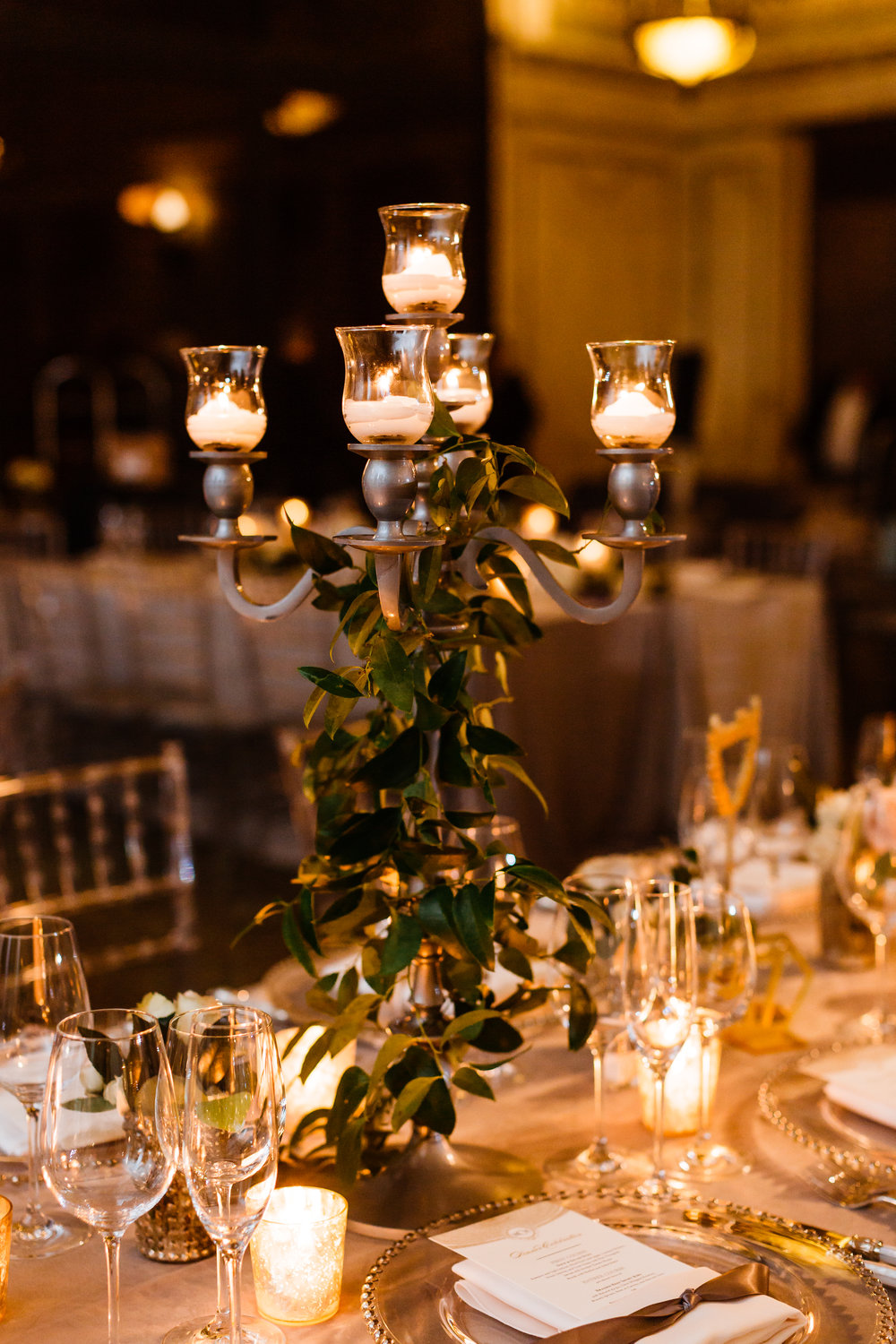 Fleur-Inc-Chicago-Cultural-Center-Jill-Tiongco-Photography-FiveGrain-Events-Winter-Wedding-Candelabra-Centerpiece