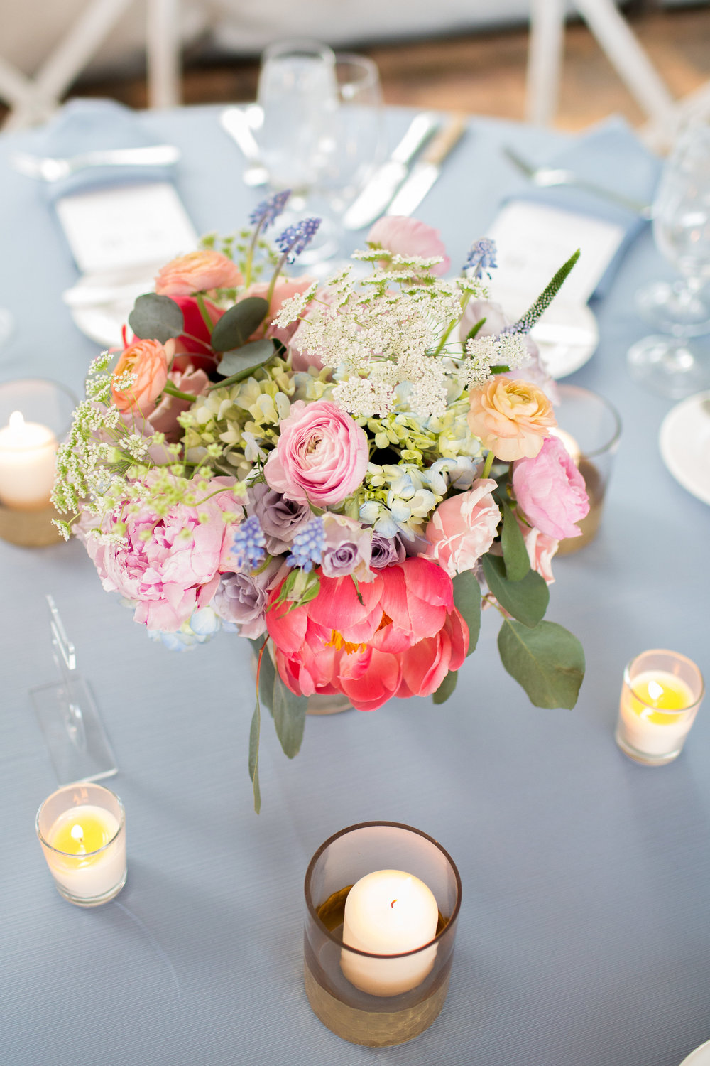Flowers by Fleur, Photo by Annie Steele Photo, Planning by BCR Events at the Chicago Botanic Gardens.