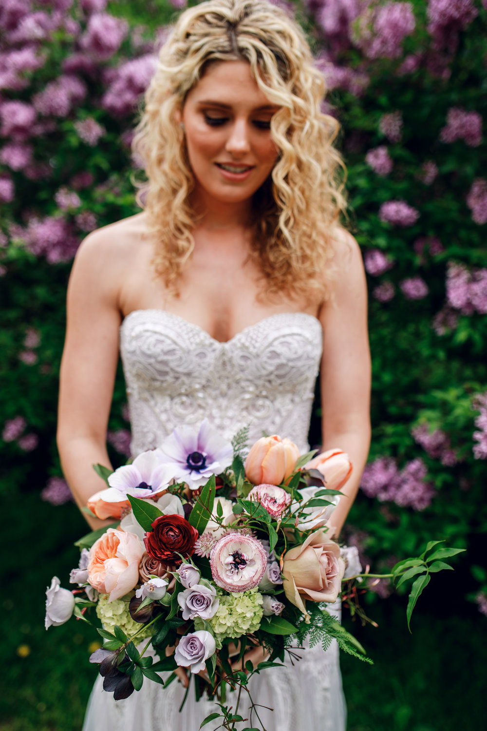 Bridal Bouquet by Fleur Inc at North Pond, Chicago.  Photo by Tuan B & Co, Planning by Bride + Joy Events
