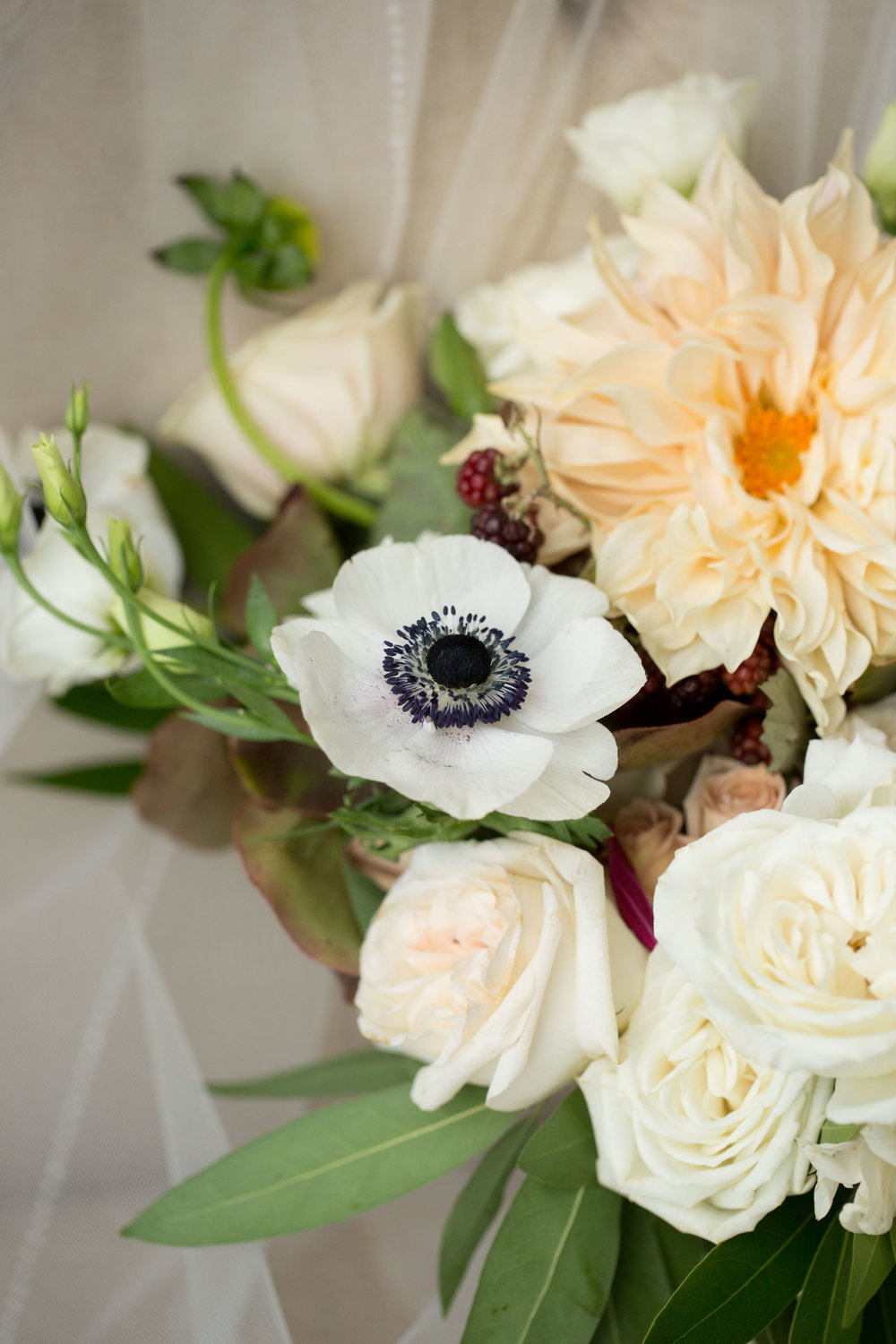 Floral by Fleur Inc, Photo by Natalie Probst, Cafe au Lait Dahlia, Garden Inspired Chicago Wedding