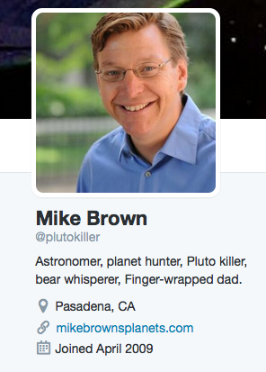 In addition to co-discovering Planet X, Mike Brown also demoted Pluto.