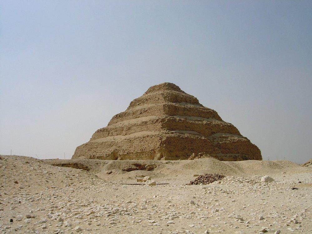 The pyramid of Saqqara, Egypt. Image by Max Gattringer.