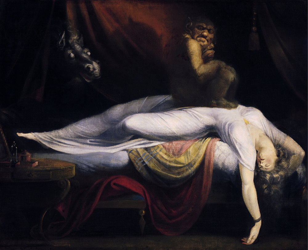 The Nightmare. Painting by Henry Fuseli.