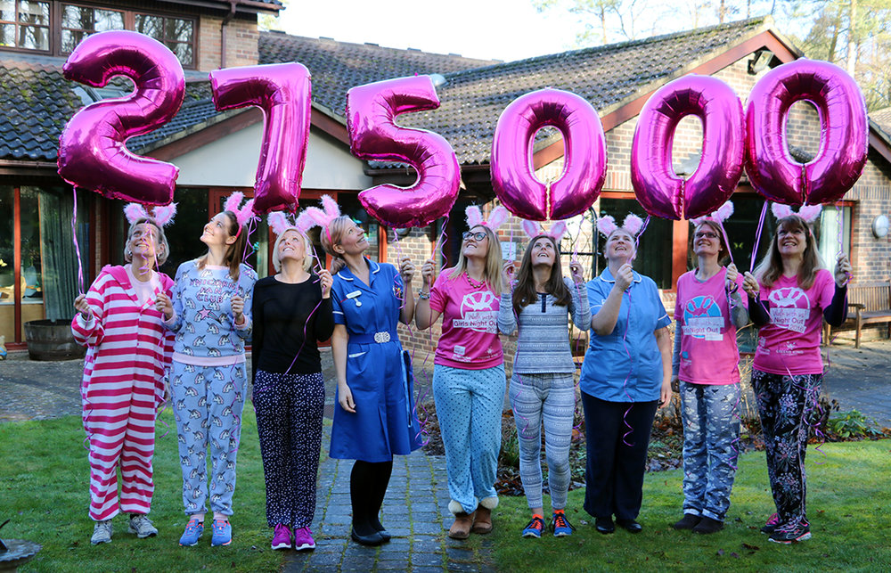 Echoleft has been a vital part of growing Girls Night Out from £190,000 in 2015 to a record-breaking £275,000 in 2017.