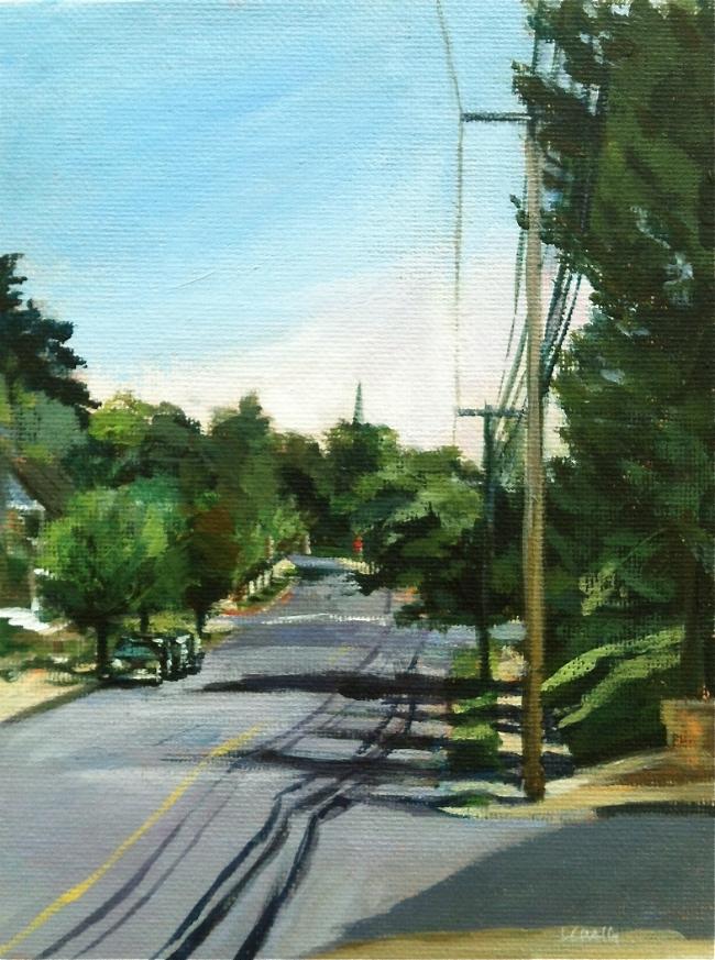 Hanover Street , acrylic on canvas