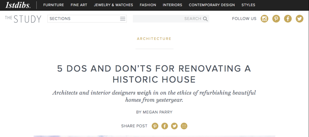 5 Do's & Dont's of Renovating a Historic House