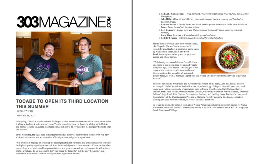 303 Magazine Expansion Feature