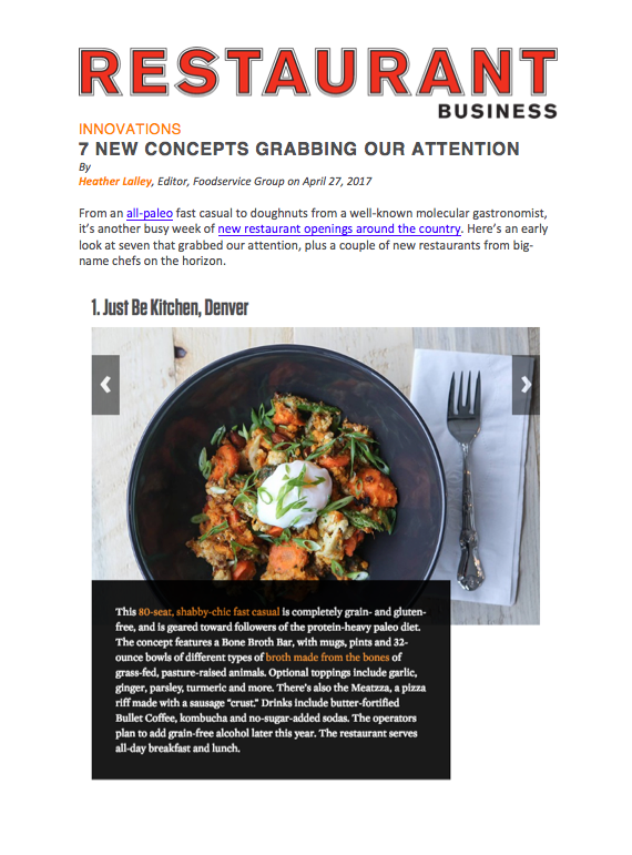 Restaurant Business Concepts Grabbing Attention