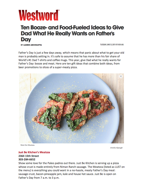 Westword Father's Day