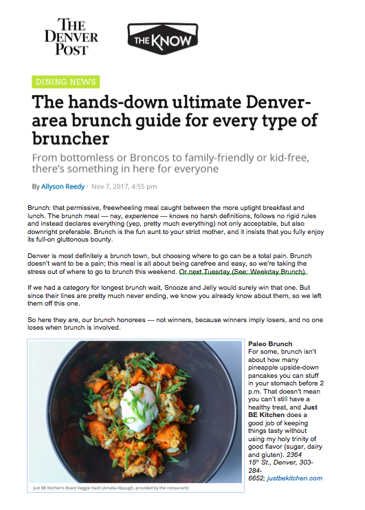Denver Post Ultimate Brunch