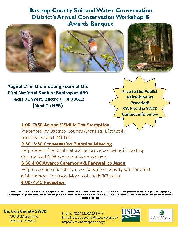 Bastrop County Conservation Workshop August 1st.jpg