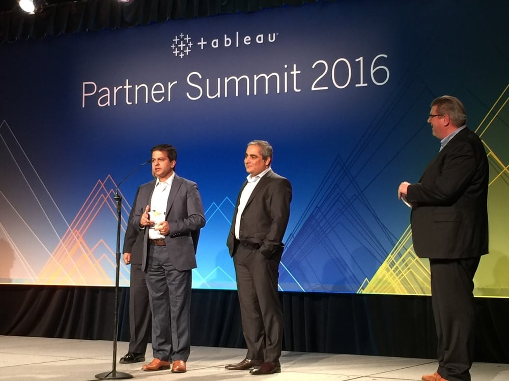 Tableau Services Partner of the year 2015