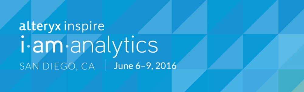 Alteryx Inspire 2016: USEReady a Gold Sponsor